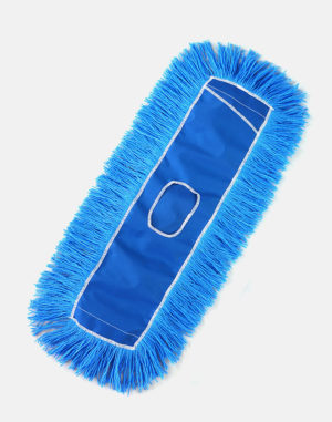 Premier Electro-Stat™ Non-Launderable Dust Mop - Blue Dust Mops