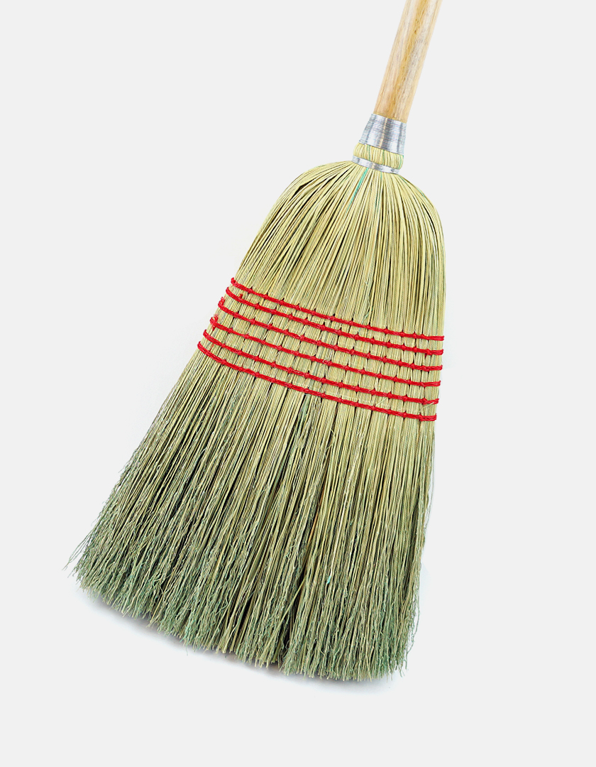 Premier Janitor Corn Broom - Best Industrial Brooms