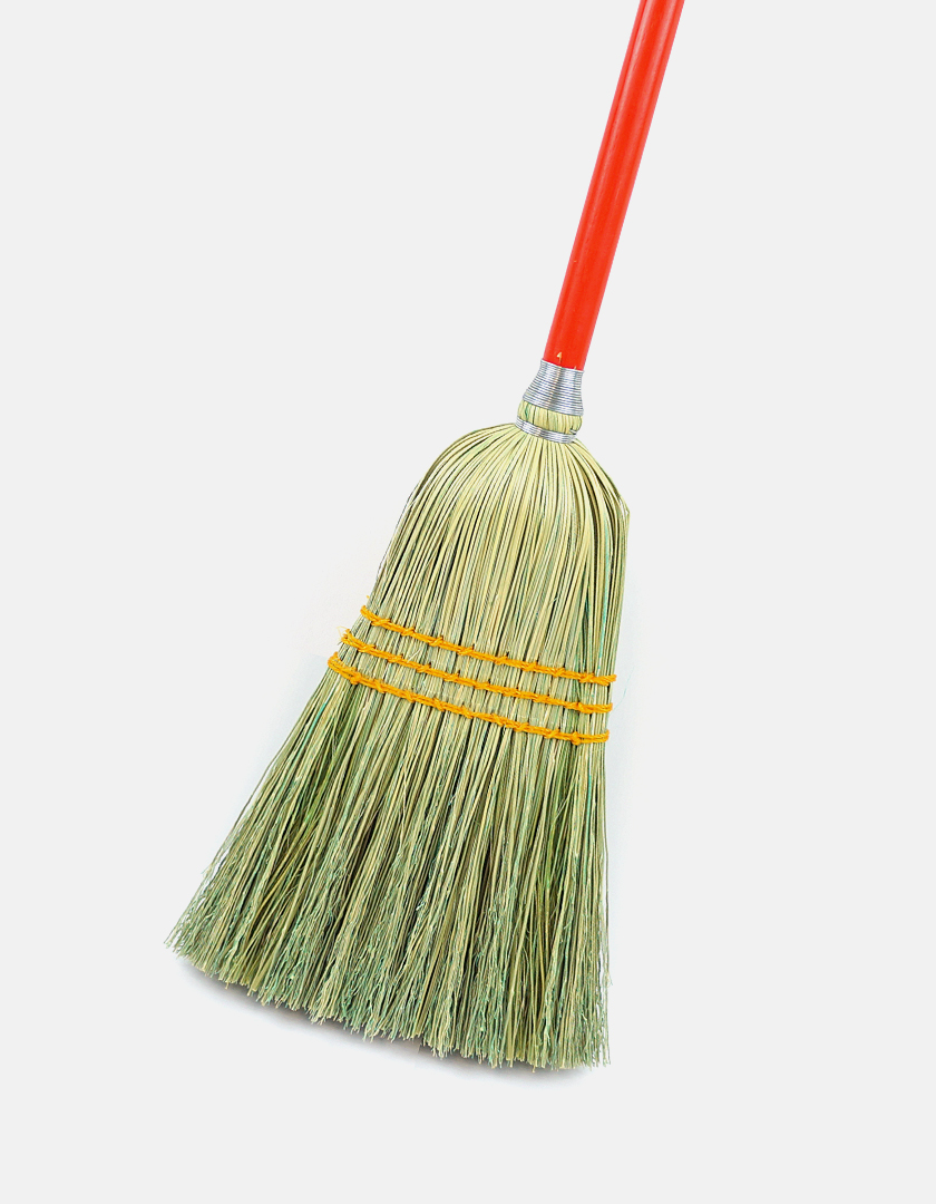 Premier Lobby Corn Broom - Best Industrial Brooms
