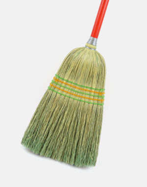 Premier Parlor Corn Broom - Industrial Quality