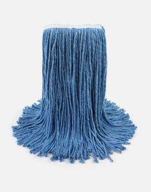 Premier Select Cotton Cut-End Wet Mop - Blue Wet Mops