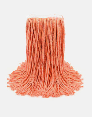 Premier Select Cotton Cut-End Wet Mop - Orange Wet Mops