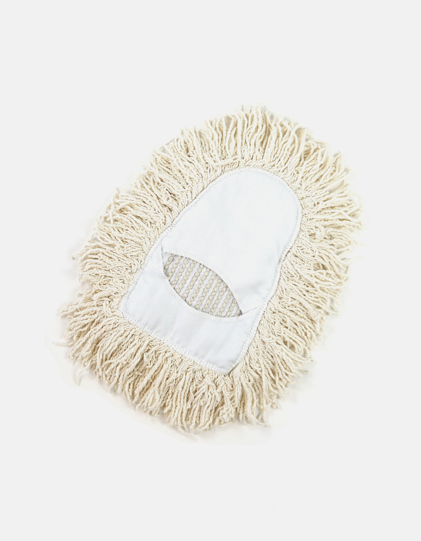 Premier Wedge Launderable Dust Mop - White Wedge Mops