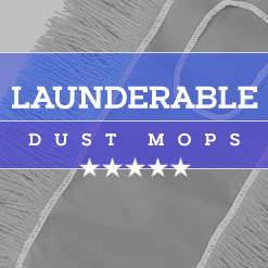 Launderable Dust Mops
