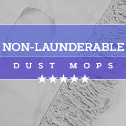 Non-Launderable Dust Mops