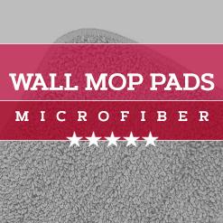 Microfiber Wall Mop Pads